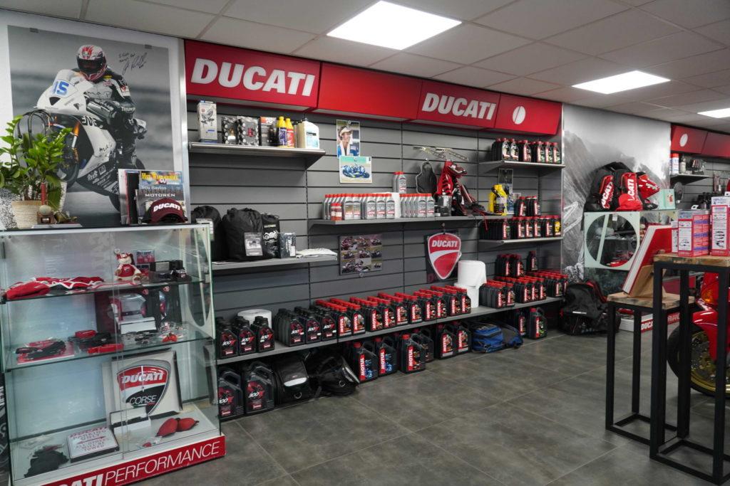 Orinele Ducati onderdelen