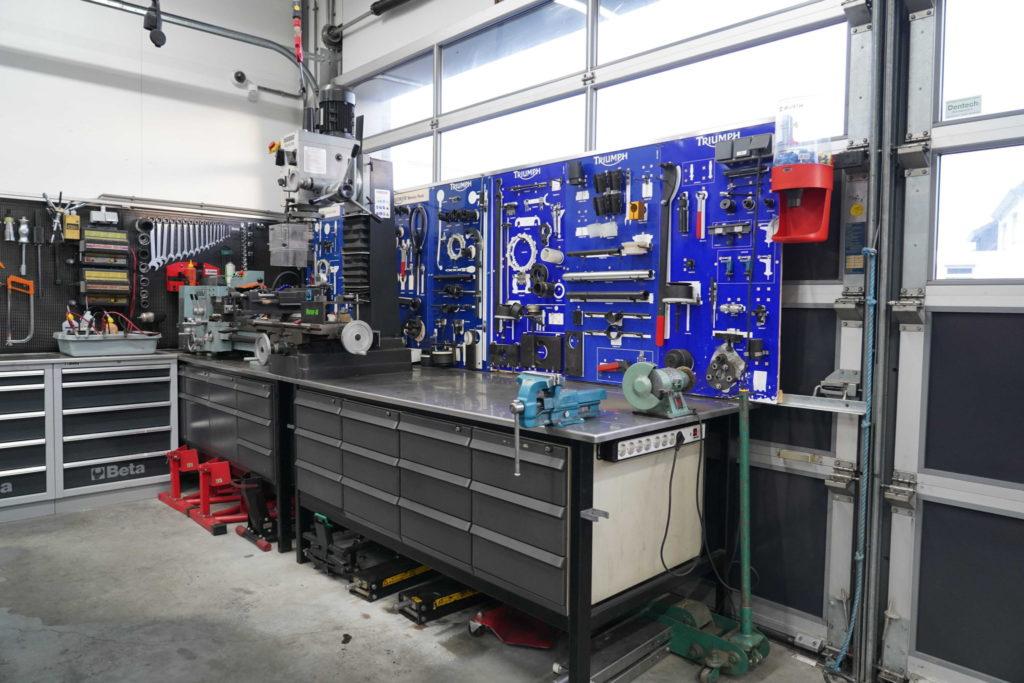 gespecialiseerde werkplaats motoren