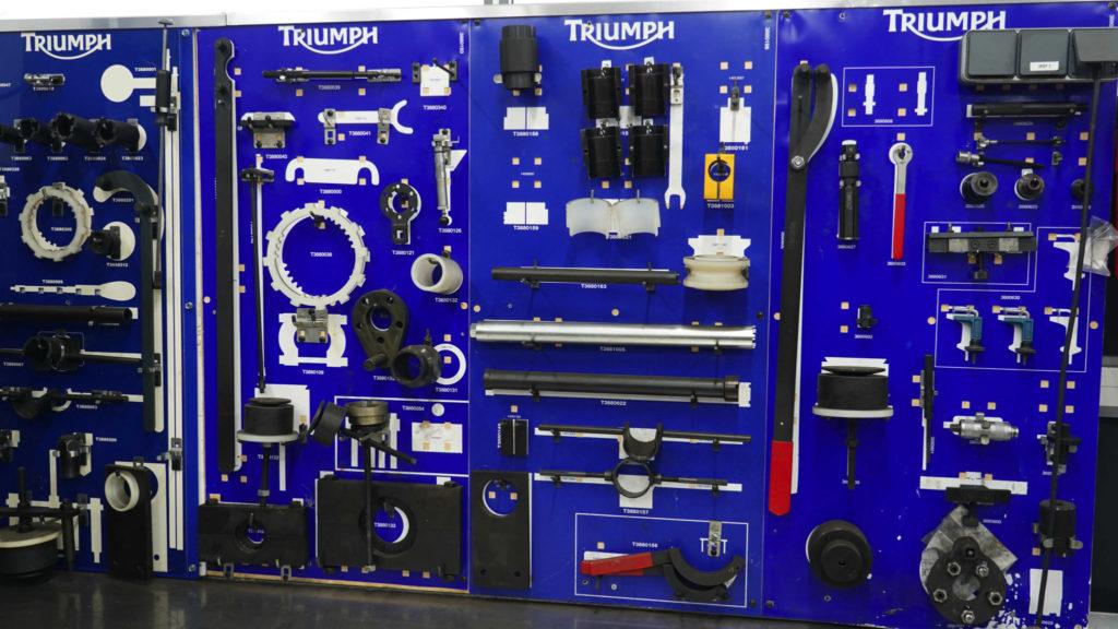 Triumph gereedschap